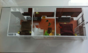 Architectural Model of Unit Internal Layout (JW-383) pictures & photos