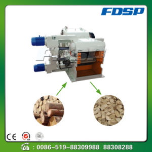 Hydraulic System Wood Log Drum Chipper pictures & photos