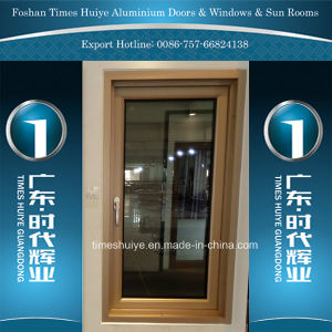 New Color Aluminium Casement Windows with Heat Insulation pictures & photos