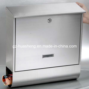 Stainless Steel Mailbox Metal Post Box (HS-MB-016) pictures & photos