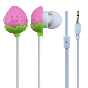 Cute Strawberry Cupcake Earphones for Girls (LS-P29)