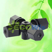 Four Nozzle Outlet Mist Sprinkler, Cross Mist Sprinklers (HT6341E) pictures & photos