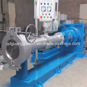 Pin Barrel Cold Feed Rubber Extruder / Hot Feed Rubber Extruder pictures & photos