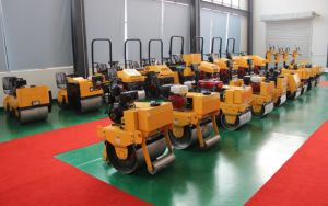 600kg Double Drum Manual Bomag Road Roller pictures & photos
