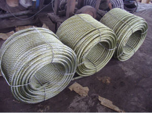 Soft Wire Rope 6X24 with Fibre Core pictures & photos
