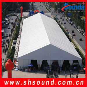 Sounda Top-Ramking PVC Coated Tarpulin / Car Cover / Tent Fabric (STP1020) pictures & photos