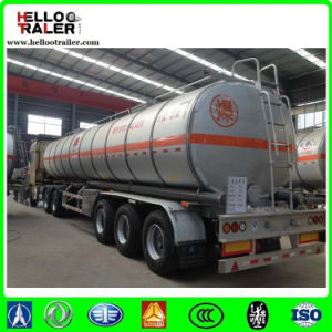 42000L 3 Axles Aluminium Crude Oil Tank Semi Trailer pictures & photos