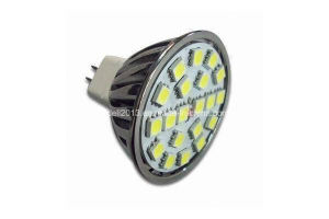 New Dimmable 3W MR16 5050 SMD LED Mini Spot Light Lamp 12V DC pictures & photos