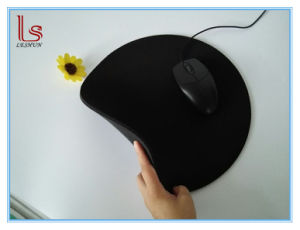 Promotional Round Black Computer Mouse Pad Personalized pictures & photos