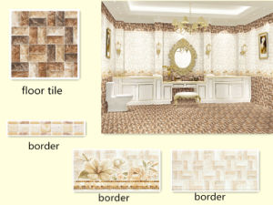 Bedroom Beige Ceramic Tile Border and Wall Tile pictures & photos