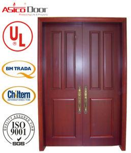 Britain/European Standard Bm Trada Wooden Door Fire Door Fire Rating 30/60/90/120minutes Safety Wood Door pictures & photos