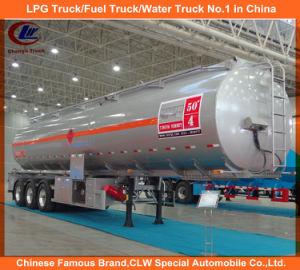 Heavy Duty 3 Axles Fuel Tank Trailer / 35cbm 42cbm 45cbm 50cbm 55cbm 60cbm Fuel Tank Semi Trailer pictures & photos