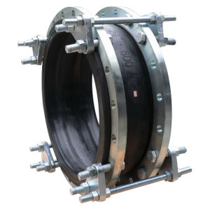 "Rubber Expansion Joint Screwed or Flanged DIN Pn10-16 BS4504 ANSI Cl150 Flanged Type Size Dn25-Dn600 or Screwed Type 1/2""-3"" with Tie Rods pictures & photos"
