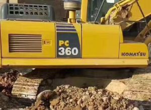 Used Excavator Komatsu 360-8 pictures & photos
