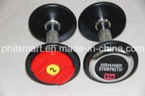 Deluxe Fitness Rubber Dumbbells pictures & photos