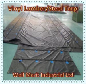 18oz Heavy Duty Lumber/Steel Vinyl Tarp pictures & photos