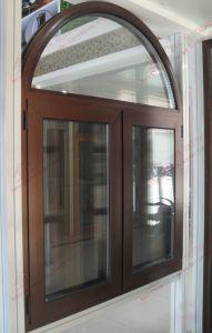 PVC Arch Casement Window (BHP-CWA01) pictures & photos