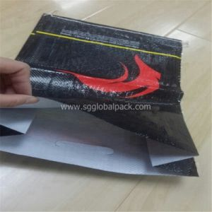 PP Woven Black Coal Bag Manufactured in China pictures & photos