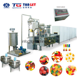 Multi-Shaped Gummy Depositing Line with Ce Certification pictures & photos