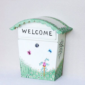 Hand Painting Mailbox Letterbox Post Box pictures & photos