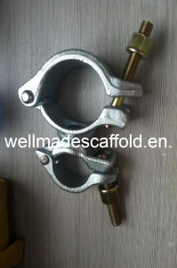 Od76X48mm Scaffolding Heavy Forged Scaffold Swivel Coupler Clamp pictures & photos