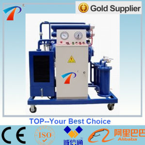 Movable Single Stage High Vacuum Oil Purification Machine, with CE pictures & photos