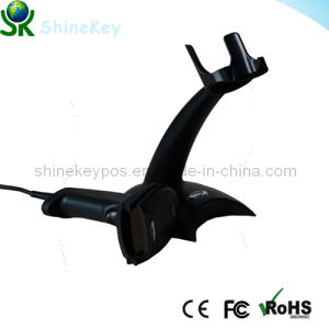 POS Barcode Scanner Laser with Stand (SK2100B) pictures & photos