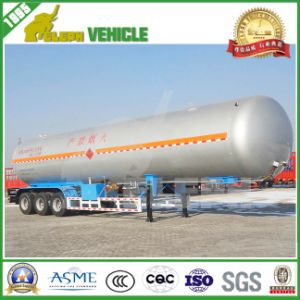 Cimc Three Axles Double Coin Tyre LPG Trailer