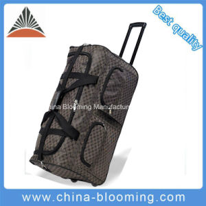 Large Polyester Travel Traveling Sports Outdoor Trolley Rolling Luggage Bag pictures & photos