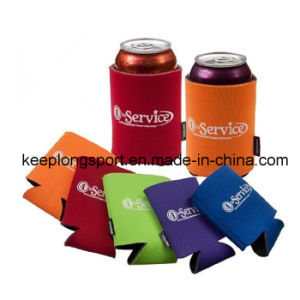 New Deisgn Insulated Custom Neoprene Can Cooler with Folded Bottom pictures & photos