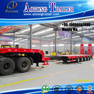 5 Axles Extendable Low Bed Semi Trailer pictures & photos