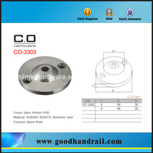 Base Plate for Handrail Bracket (CO-3303) pictures & photos