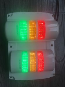 Buzzer Light 24V Signal Tower Light Red Amber Green Three Stacks Light pictures & photos