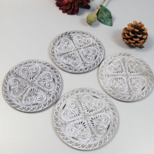Cheap Resin Coaster Set of 4 for Coffee Shop or Kitchen pictures & photos