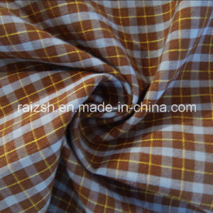 T / C Jacquard Yarn-Dyed Plaid Poplin Fabric for T-Shirt pictures & photos