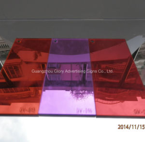 Plastic Double Sided Silver Acrylic Mirror Sheet pictures & photos