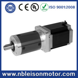 52mm Planetary Gear Reducer Gearbox with NEMA 23 Stepper Motor pictures & photos
