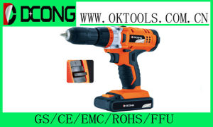 Battery Drill with Big Power for Drilling Hole and Steel