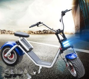Cheap Harley Electric Scooter with Brushless 1200W Motor and Remove Lithium 60V 12ah Battery pictures & photos