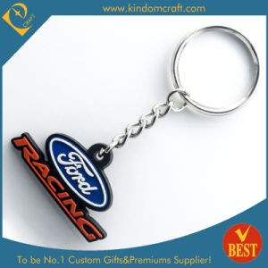 Customized Logo Cheap 2D Promotional PVC Key Chain From China Series Products pictures & photos