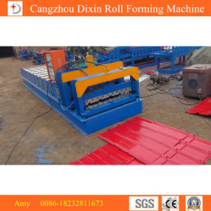 China New Product Steel Sheet Panel Corrugated Roof Tile Making Machine pictures & photos