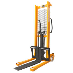2t Manual Forklift Manual Pallet Stacker pictures & photos