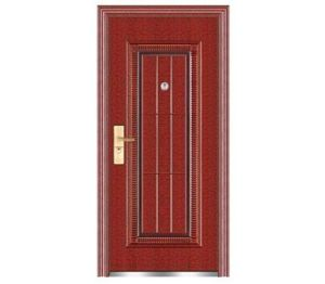 Steel Security Door with Accessories pictures & photos