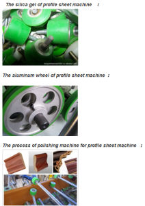 Aluminium PVC Profile Cold Glue Woodworking Wrapping Machine pictures & photos