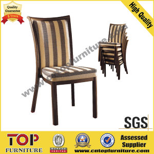Wood Looking Aluminum Dining Chair pictures & photos
