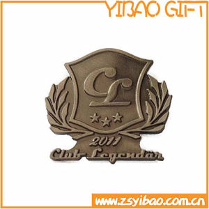 High Quality Antique Brass Pin Badge for Souvenir (YB-p-021) pictures & photos