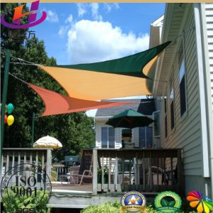 Excellent Waterproof Virgin HDPE Outdoor Garden Sun Shade Sails