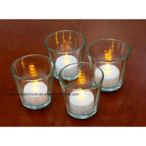 Flameless LED Tealight Candle with Battery Operated Ce, RoHS Ceftificated pictures & photos