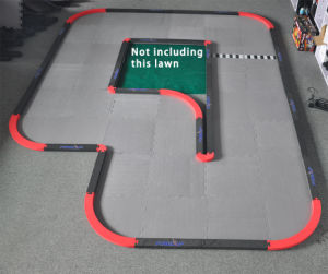3.8m*2.9m EVA RC Track Profession Racing-Way pictures & photos