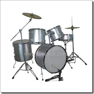 5-PC Drum Set/Drum Kit with Drum Stick (DSET-210) pictures & photos